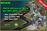 Advanced Mills Sale January 2013