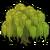 Deco tree willow icon