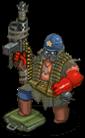 S trooper veteran rebel front