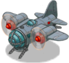 Air bomber front