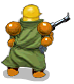 Shocktrooper green back