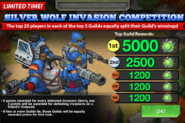 Silver Wolf Invasion Competition