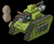 Veh tank laser back
