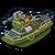 Ship gunboat icon