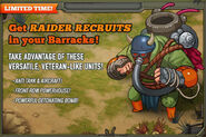 Raider Recruit Promo