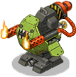 Veh ign turret flame front
