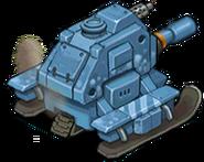 Veh tank arctic heavy back