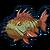 Sea grouper icon