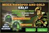 Mega Nanopod And Gold Sale