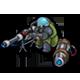 S laser sniper icon