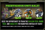 Prestigious Unit Promo