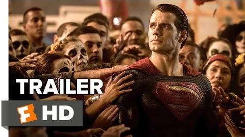 Batman v Superman Dawn of Justice Official Trailer 1 (2016) - Henry Cavill, Ben Affleck Movie HD-1