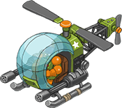 Event reward helicopter