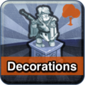 Decorations Button