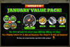 January Value Pack 9-19