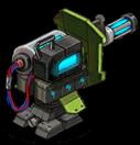 Veh ign turret laser back