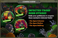 Infected Troops Boss Strike