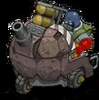 S mortar turtleShell front