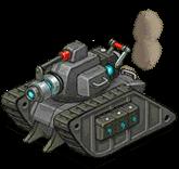Veh tank laser front