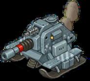 Veh tank arctic heavy rebel front