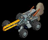 I17 veh railgun buggy front