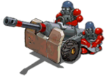 Artillery grey front