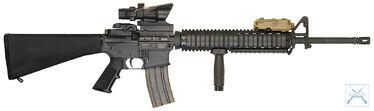 M16A4withANPEQ&ACOG