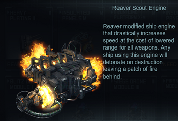 Reaver Scaut engine
