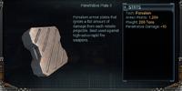 Penetrative Plate