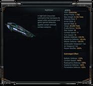 Nighthawk Stats