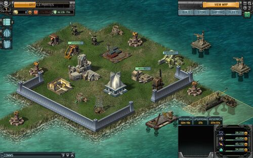 Battle-Pirates 2 Starting-Base