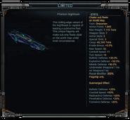 Phantom Nighthawk Stats