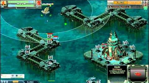 Battle Pirates - lvl 55 Outpost with my mauler fleet - 26 July 2013