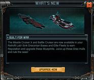 Whats New - Built For War