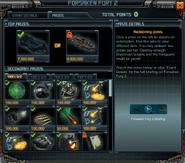 Forsaken Fury 2 Event Prizes