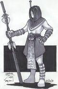 Staff Adept - Lotus Clan