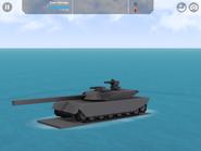 Prototype Tank 3 with railgun