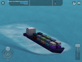 Container ship Pebbles