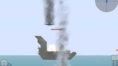 Battleship craft Aircraft Carrier vs Aircraft Carrier