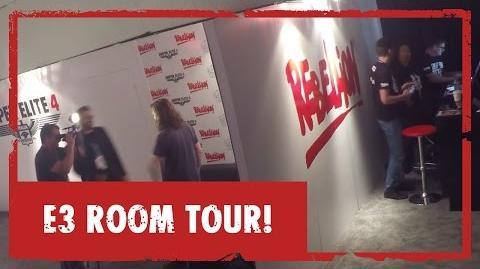 Rebellion E3 Room Tour!