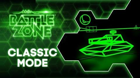"""Battlezone """"Classic Mode"""" Free Update Trailer PlayStation VR"""