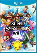SSB4 - Wii U Boxart