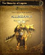 Allegiance Page