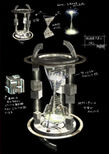Hourglass of Space and Time