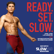 Baywatch SloMo Marathon announcement with Zac Efron 2