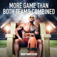 Baywatch Big Game promo