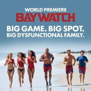 Baywatch Super Bowl promo