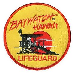 Baywatch hawaii lifeguard patch