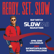 Baywatch SloMo Marathon announcement with Zac Efron 1