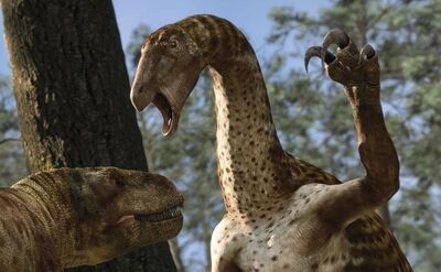 Zunityrannus and Nothronychus